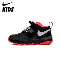 NIKE Kids TEAM HUSTLE D 8 JDI (PS) New Arrival Sweat absorbent Cacaul Sneakers Big Kids Outdoor Running Shoes AQ9976 001
