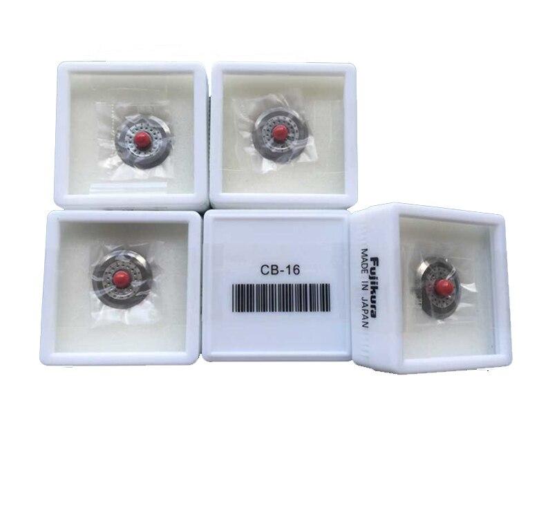 bilder für Vorlage Fujikura CT-30 CT-20 Faser-spalter Ersatzklinge CB-16 Optische Faser-spalter Klinge (Made in Japan) Freies verschiffen