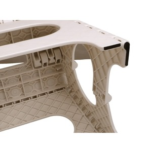 Image 4 - Tabouret pliant léger denfants ou dadultes chaise pliante portative sûre en plastique avec des poignées tabouret anti dérapant de salle de bains