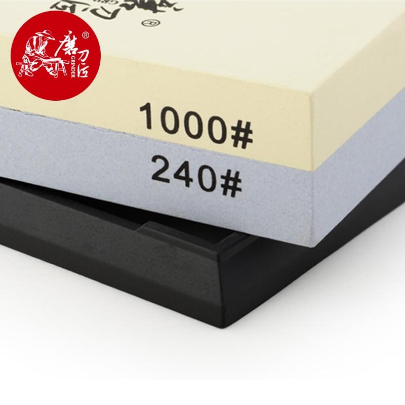 Taidea T6124W kétoldalas élező kő (240 # / 1000 #) Whetstone - Konyha, étkező és bár