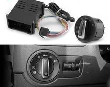 STYO Auto Licht Sensor Mit Scheinwerfer Schalter für GOLF 4 J ETTA MK4 Polo NEW Bora JETTA MK6 Passat B5 5ND 941 431B