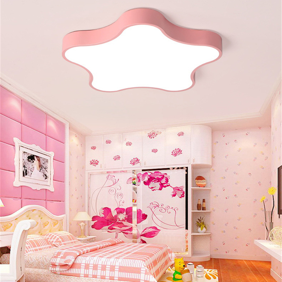 ultra-thin 5cm LED Pentagram ceiling lamps Personality creativity Macaron Ceiling Light for the Childrens Room living roomultra-thin 5cm LED Pentagram ceiling lamps Personality creativity Macaron Ceiling Light for the Childrens Room living room
