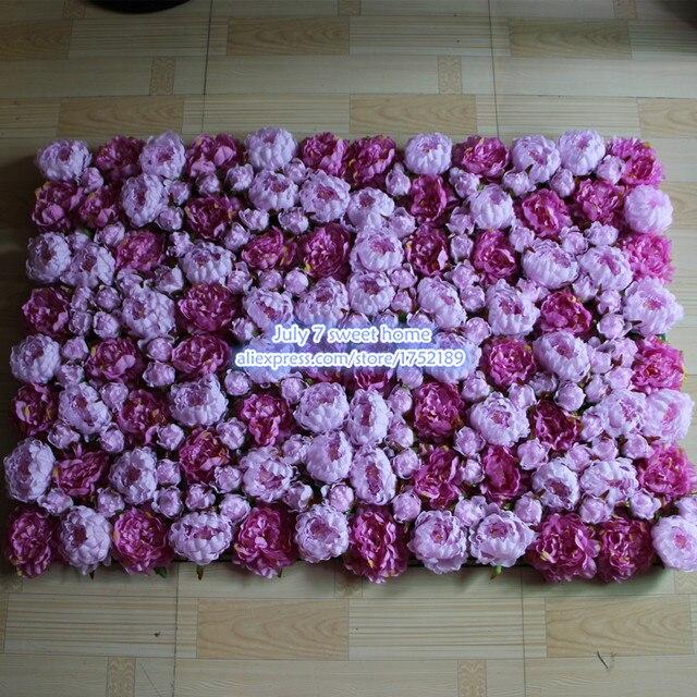 Artificial silk purple peony flower wall wedding background lawn artificial silk purple peony flower wall wedding background lawnpillar flower road lead home market mightylinksfo