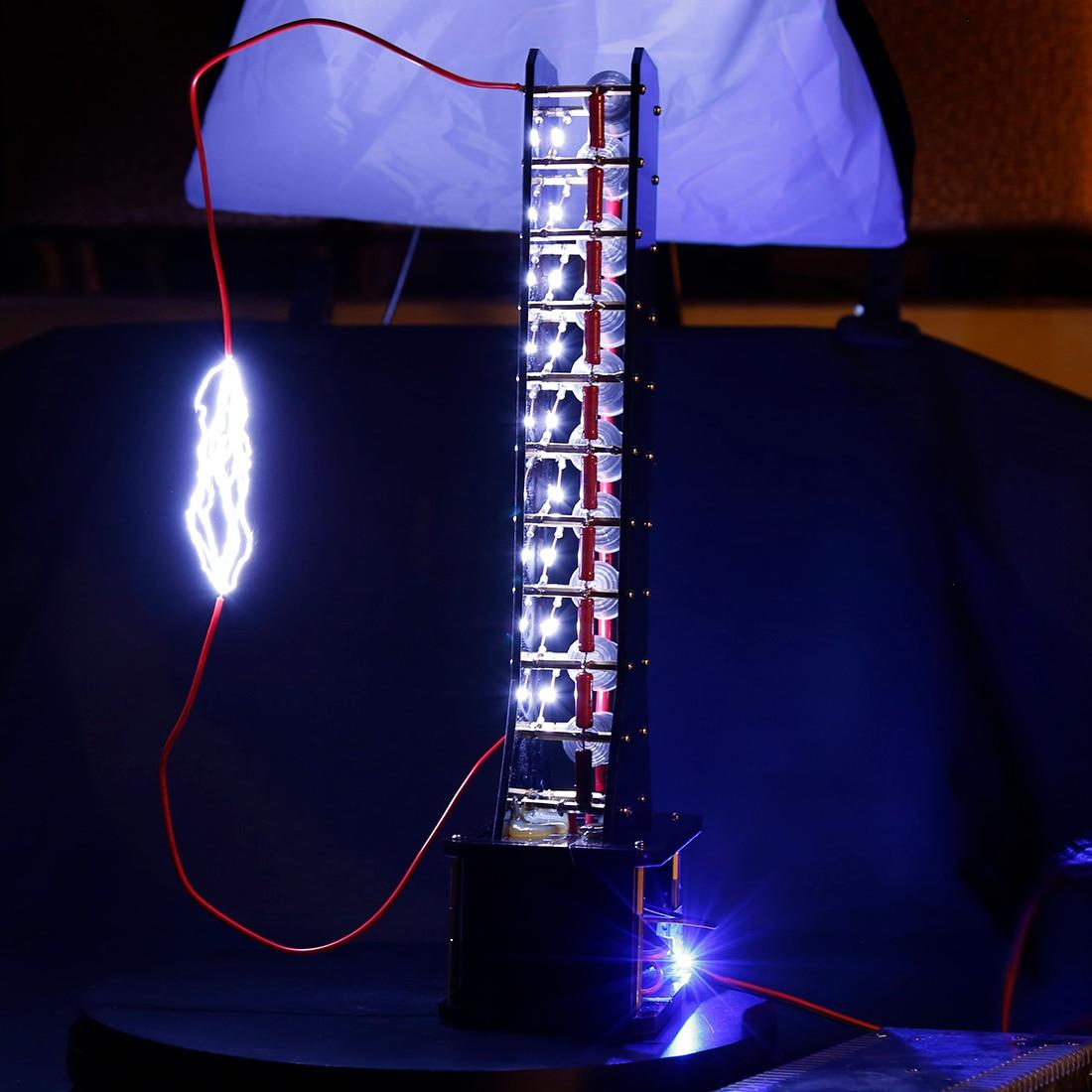 Level 10 High Voltage Marx Generator DIY Lightning Educatinal Model Building Kits Toys Hobbies