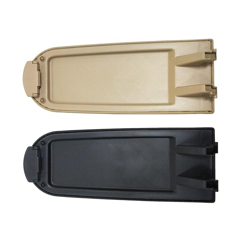 BTAP New Black & Beige Armrest Cover For VW Bora Golf