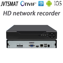 jvtsmart H.265 4CH 8CH 16CH NVR 5mp 4mp 1080P Network Video Recorder Onvif P2P cctv HD 4Channel 8Channel 16Channel NVR XMeye