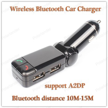 hands-free system Bluetooth V2.0 MP3 Player support A2DP Bluetooth Car Charger 10M Bluetooth image