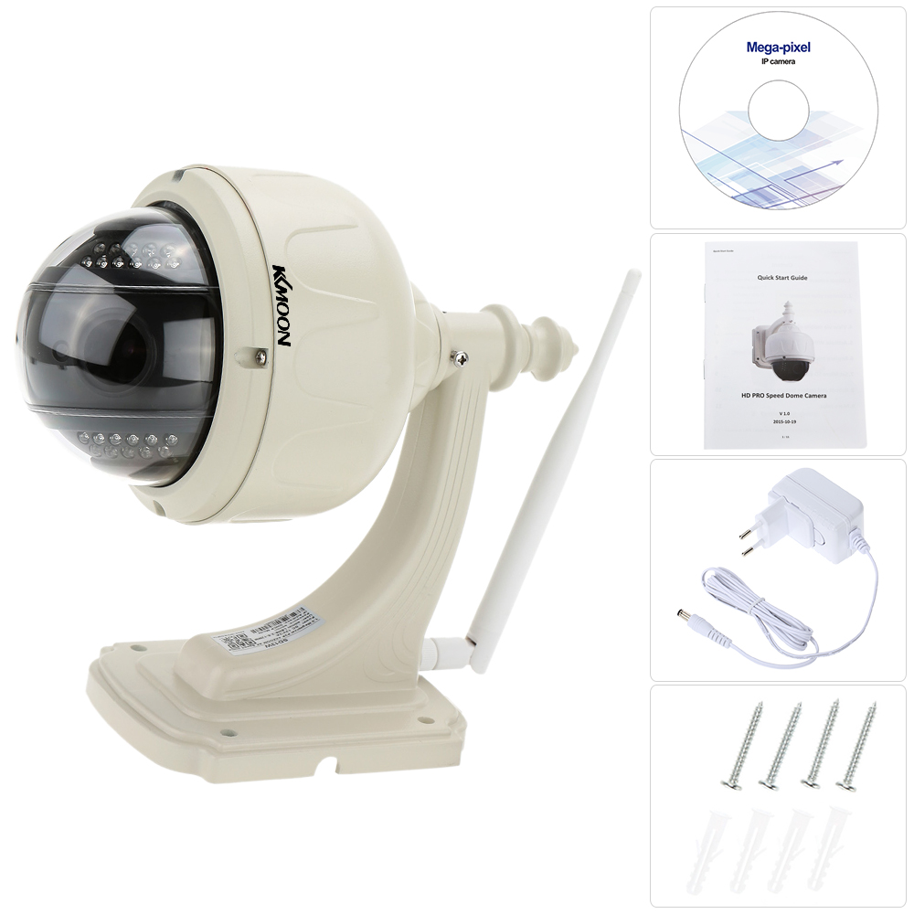 Image 5 - KKmoon 960P Wireless WiFi IP Camera Outdoor PTZ 2.8 12mm Auto focus Waterproof H.264 HD CCTV Security Camera Wifi Night Vision-in Surveillance Cameras from Security & Protection