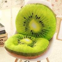 Luxury Decorative Fruit 3d Pillows for Home Children Decor Pillow Chair Sofa Cushion,coussin chaise,Soft Seat Cushion