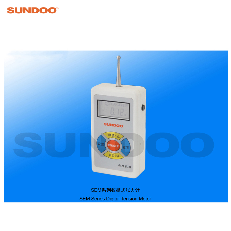 Sundoo SEM-5 5N Digital Push Pull Force Gauge Tension Tester peter sem katalog