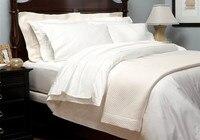 Luksusowe pościel zestaw pościeli 5 gwiazdek hotelu 1800 TC 100% Egipskiej bawełna 4 sztuk zestaw Hiszpania Queen size biały Ivory kolorów dostosuj