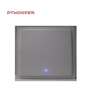DTWONDER UHF RFID считыватель с 12dbi антенной RS232 RS485 Wiegand TCP IP интегрированный считыватель на большие расстояния DT002H