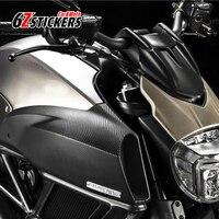 6zstickers 50CMx152CM 5D Carbon Fiber Vinyl Car Wrap Film DIY High Glossy Motorcycle And Car Exterior