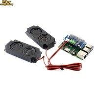 WM8960 Hi Fi Sound Card HAT for Raspberry Pi Zero/Zero W/Zero WH/2B/3B/3B+, Stereo CODEC, Play/Record