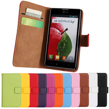 Case For LG Optimus L7 II Dual P715 Coque Flip Leather For LG L7 P705 Cover Fundas Capa Cell Phone Cases Etui Wallet Accessory