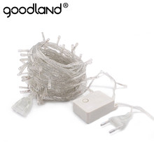 LED String 10M Waterproof 110V 220V 100 LED Fairy Light 9 Colors Christmas Gerlyanda Outdoor Garden Decoration Garland Halloween(China)