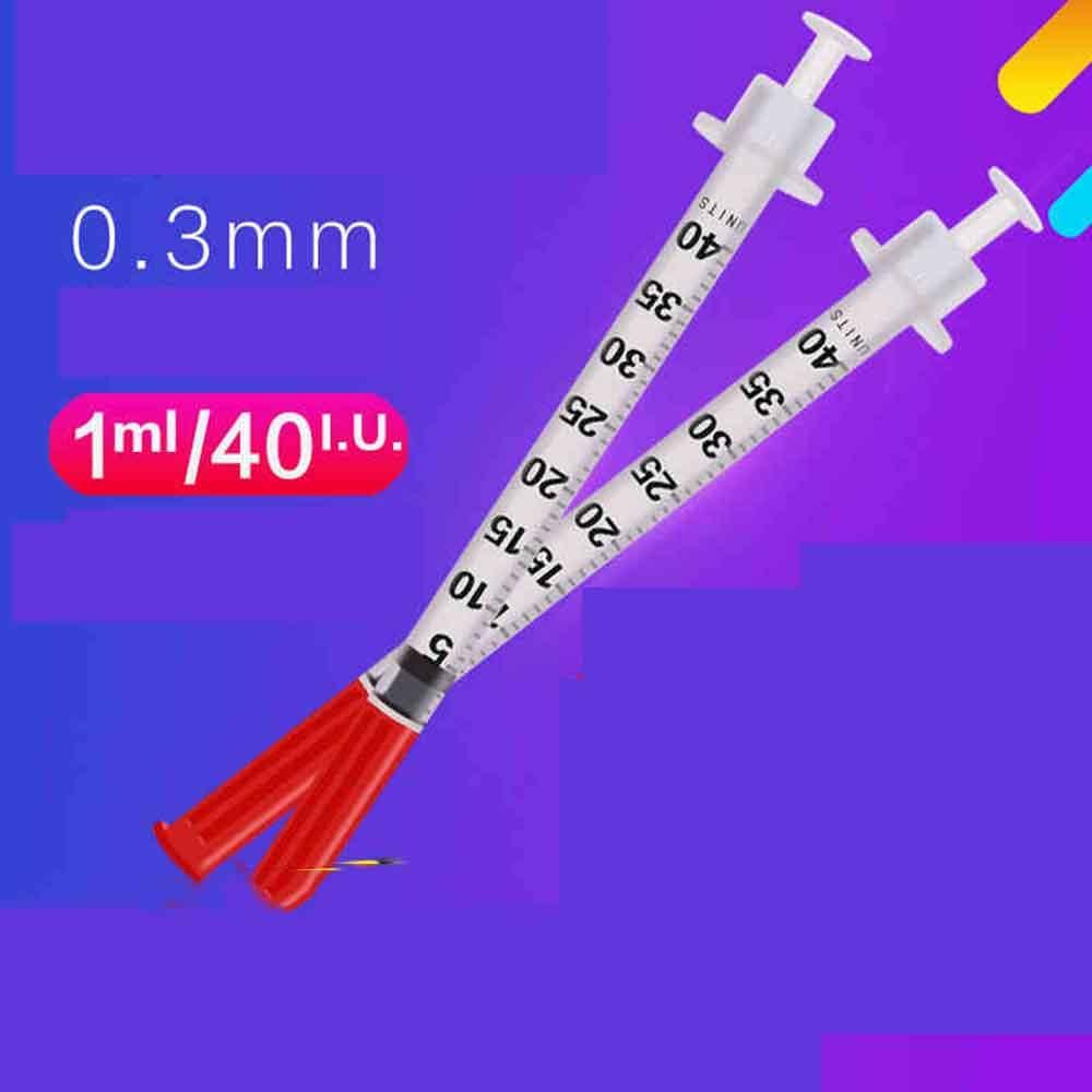 20 шт/50 шт/100 шт/200 шт 1 мл одноразовые пластиковые жидкие шприц дозатор иглы, инъекции для инсулинового шприца U40-in Туалетные наборы from Красота и здоровье on AliExpress - 11.11_Double 11_Singles' Day