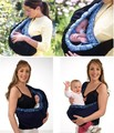 Baby with marine Plaid straps baby carrier backpack sling front facing Pure cotton babies 3 colours