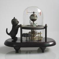 Лучший подарок! Рождественские украшения для дома + Свадебные украшения коллекционные китайские бронзовые механические часы с деревянной