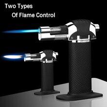 New Torch Turbine Lighter Spray Gun Butane 1300 C Blue Flame Cigar Explosion-proof Wild Kitchen