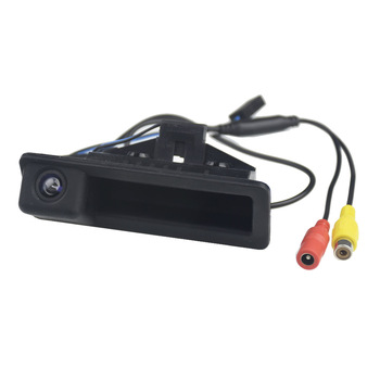Car Trunk Handle Camera Rear View HD Camera for BMW E60 E61 E70 E71 E72 E82 E88 E84 E90 E91 E92 E93 X1 X5 image