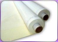 Free Shipping 6Meters 120 Mesh (48T) Screen Printing Fabric Mesh Silk Press Printing White