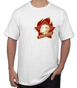 Camiseta de gran oferta de moda para hombre y mujer, camiseta pyccknn rusa, CCCP, urbano, Unión Soviética, camiseta divertida de broma, 2019