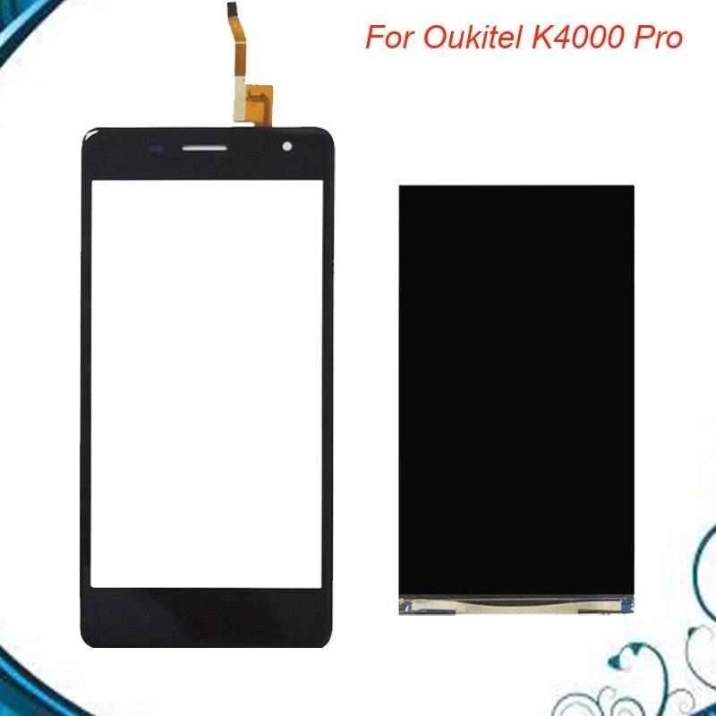 Pour Oukitel K4000 Pro Écran lcd + Écran Tactile 100% Testé LCD + Digitizer Panneau de Verre de Remplacement EN Stock