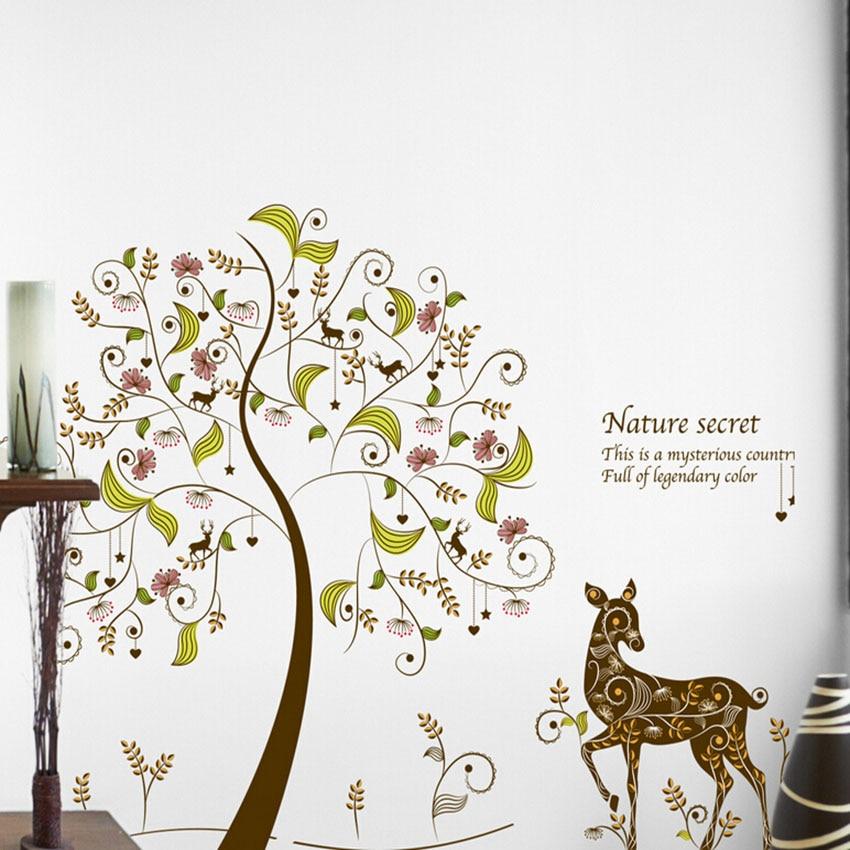 174 colorful tree wall stickers for kids kids rooms home aliexpress com buy animal cartoon dinosaur world vinyl