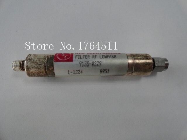 [BELLA] RLC L-1224 DC-900MHZ RF SMA filtre passe-bas (F-M)[BELLA] RLC L-1224 DC-900MHZ RF SMA filtre passe-bas (F-M)