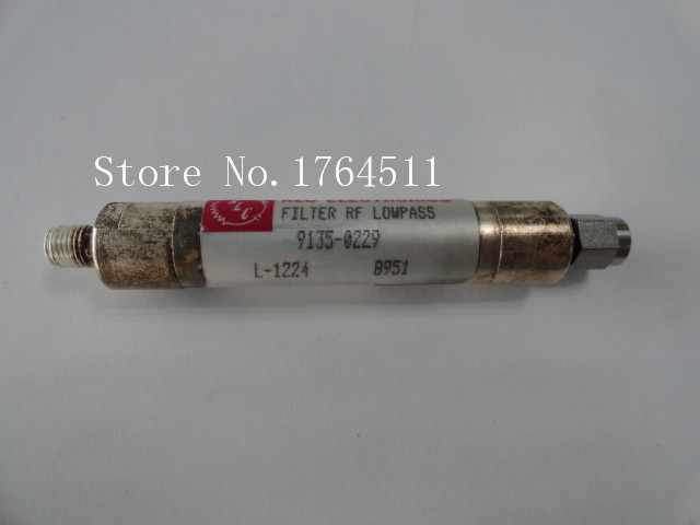 [BELLA] RLC L-1224 DC-900MHZ RF SMA low pass filter (F-M)[BELLA] RLC L-1224 DC-900MHZ RF SMA low pass filter (F-M)
