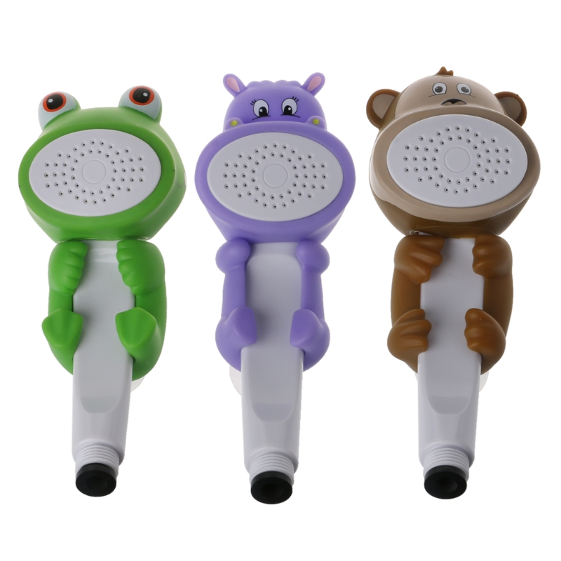 1Pc Childrens cartoon cute family to Shower bathroom hand shower faucet douche