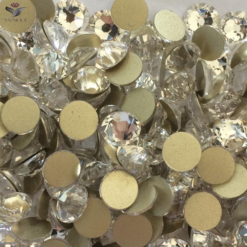 YANRUO 2058NoHF SS20 Crystal Non HotFix Rhinestones - ხელოვნება, რეწვა და კერვა - ფოტო 2