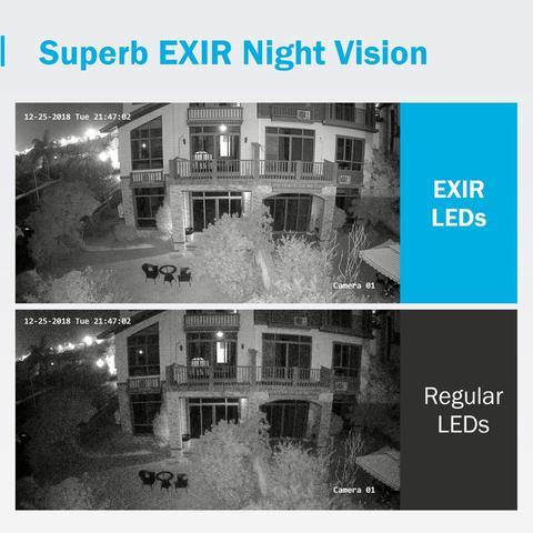rede video sistema seguranca 4pcs impermeavel