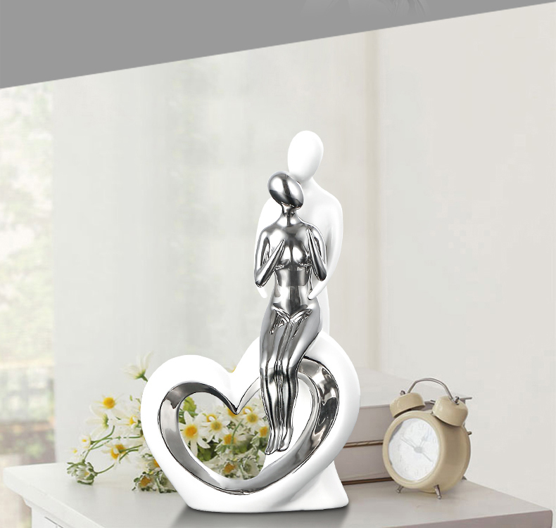 Forever Love Couple Romantic Creative Modern Decoration