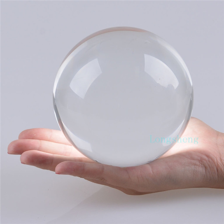 Buy 11cm crystal ball clear white for Crystal trasparente
