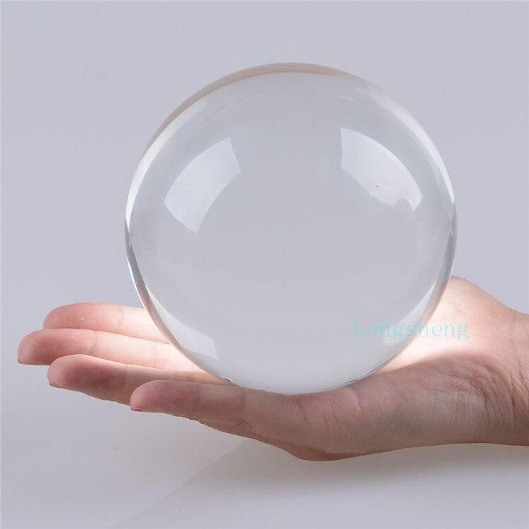 Aliexpresscom  Buy 11cm Crystal Ball Clear White