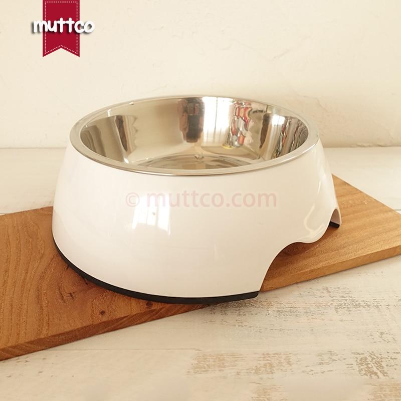 afneembare antislip van hoge kwaliteit Roestvrij staal puur witte - Producten voor huisdieren