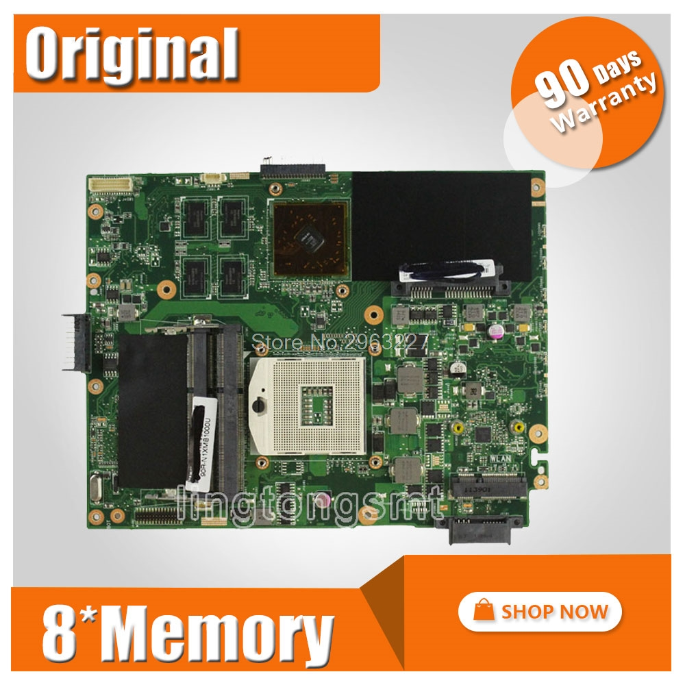 For ASUS K52JR K52J A52J K52JC A52J K52JT Mainboard 8pcs of storage Laptop Motherboard 100% tested perfect k52ju laptop motherboard mainboard for asus k52jt k52j k52jc a52j x52jc x52j k52je with hd6370 512m ddr3