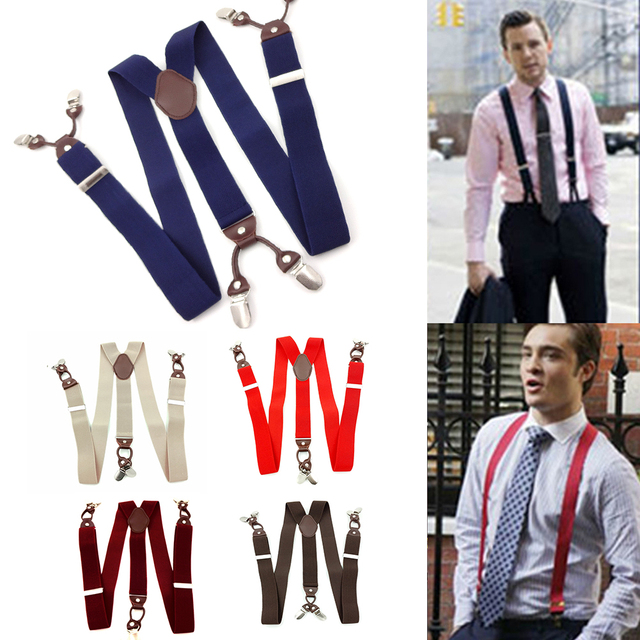 6 Clips Casual Suspenders 3