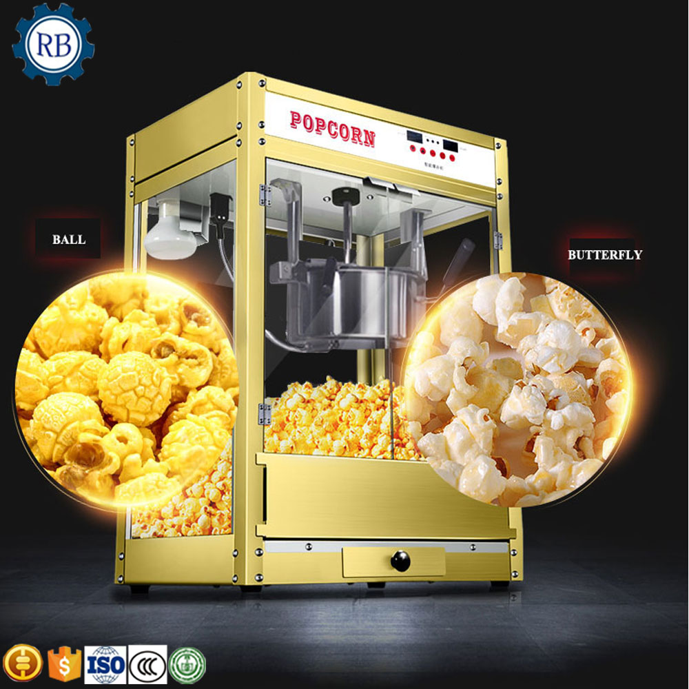 Widely Used Kettle Industrial Popcorn Making Machine/Sweet popcorn maker Cheap corn popping machine
