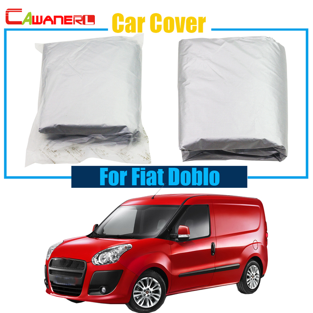 Cawanerl Full Car Cover Sun Shade Vehicle Anti UV Sun Rain Snow Preventing  Protector Cover Dust Proof For Fiat Doblo 24c675df465