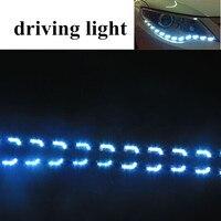 High Quality Flexible LED Headlight LED TEAR EYE DRL Daytime Runing Lamp Strip White Amber Switchback