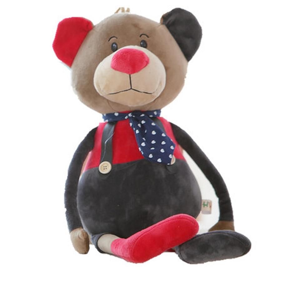 цены на Bear Stuffed Plush Toys Animal Cute Cartoon Dolls Elephant Baby Peluches Grandes Graduation Gift Knuffel Toys For Kids 70G0373 в интернет-магазинах