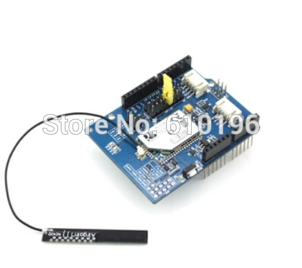 RN171 Module de carte d'extension de bouclier Wifi prise en charge à domicile intelligente TCP/UDP/FTP avec antenne pour arduino