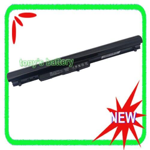 New 4cell Laptop Battery OA04 HSTNN-LB5S For HP 240 G2 CQ14 CQ15 Presario 15-h000 15-S000 HSTNN-LB5Y HSTNN-PB5Y OA03 black(China)