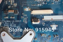 L500 L505 integrated motherboard for T*oshiba laptop L500 L505 LA-4981P K000083110