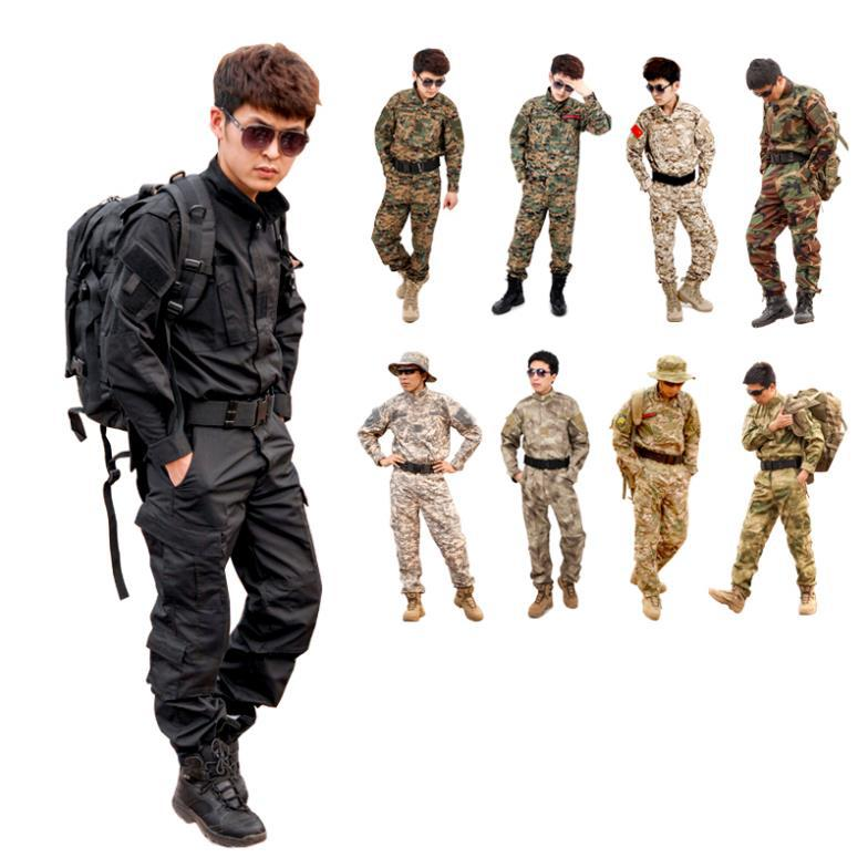 CS Paintball suit Combat BDU Uniform Military Uniform bdu Hunting Suit Wargame COAT+PANTS Set Tactical Jacket a tacs fg military uniform combat a tacs uniform bdu military uniform for hunting wargame coat pants