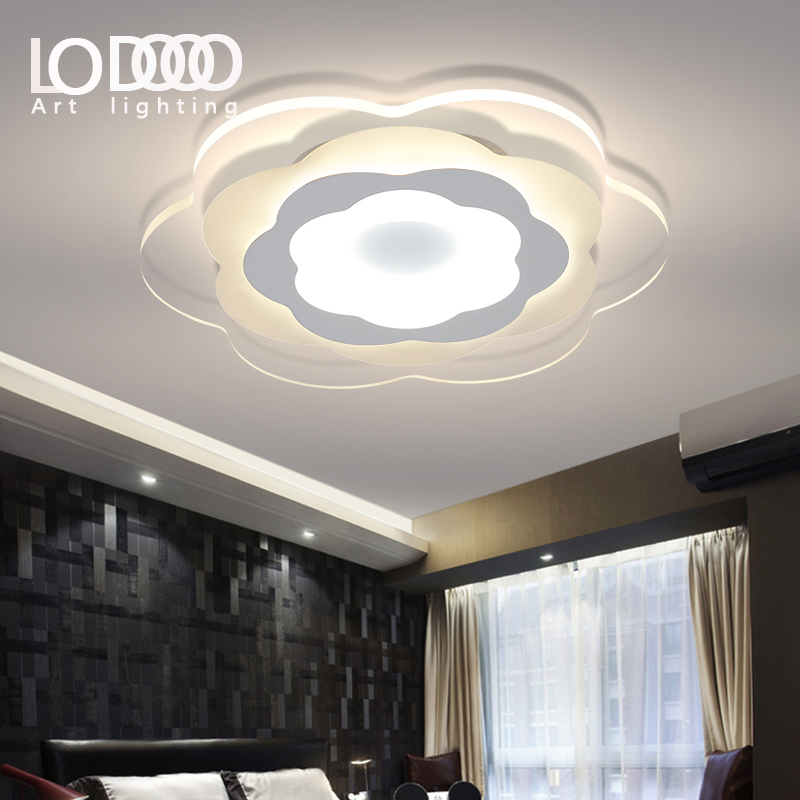 Ultra thin acrylic modern led ceiling lights for living for Ultra modern light fixtures