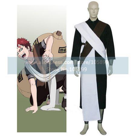 font b Naruto b font Gaara Chunin Exam font b Cosplay b font Costume
